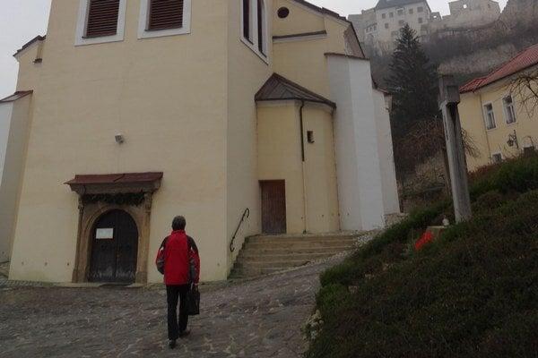 Rekonštrukcia kostola začala v roku 2010.