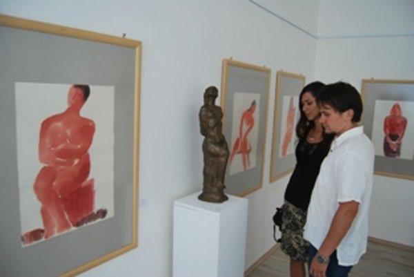 Výstavu diel Jozefa Kostku si nenechá ujsť žiaden priaznivec výtvarného umenia.