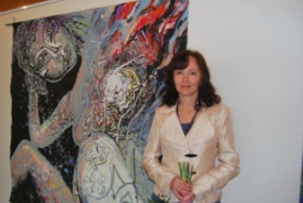 Júlia Piačková predstavuje svoju súčasnú tvorbu