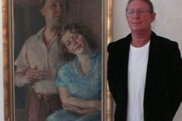 Roman Dragoun Predstavuje diela svojho otca, ktorý zomrel v roku 2005, vo veku 89 rokov.