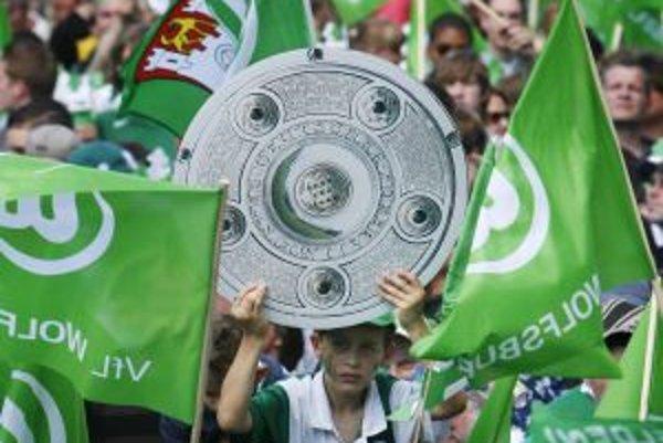 Fanúšikovia Wolfsburgu.