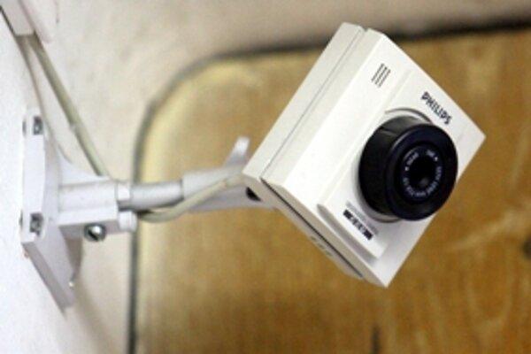 Ilustračné foto. S kamerami v škole musia súhlasiť rodičia.