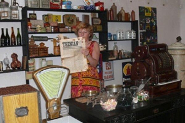 Výstava v múzeu dokumentuje históriu malých trenčianskych obchodíkov