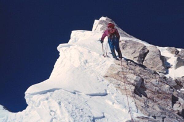 Ivan Fiala tesne pred vrcholom Nanga Parbat
