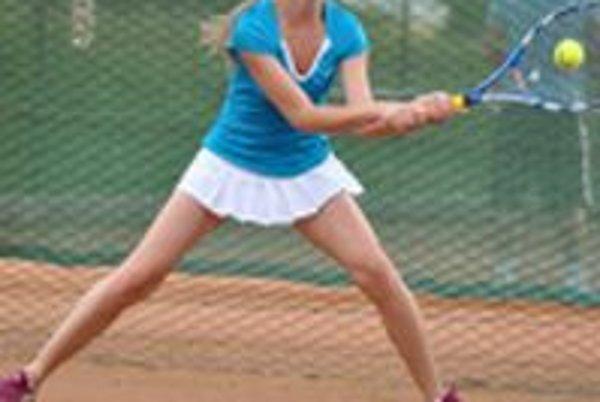 Daniela Žuffová - tenistka TK Tenkur Trenčín.