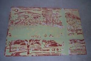 Na stene kultúrneho domu v Kálnici objavili obrovský obraz.