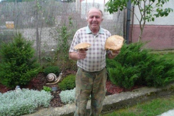 Hubár z Kubrice našiel unikátne dubáky.