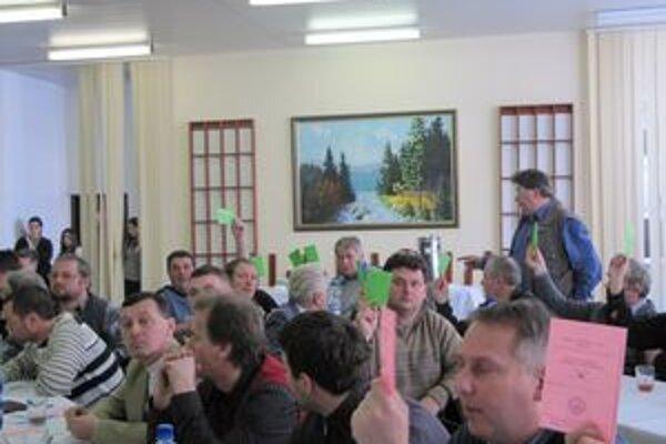 V Trenčíne na výročnej konferencii ObFZ sa z pozvaných zúčastnilo vyše 90 percent delegátov.
