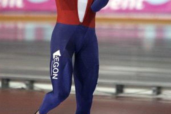 Sven Kramer - svetový rekordér na 5000 m