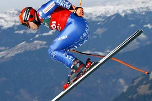 Švajčiar Didier Cuche vlani vo Wengene.