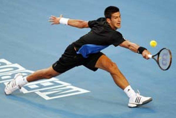 Novak Djokovič vo finále Australian Open.