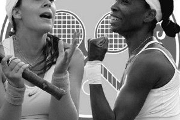 V dnešnom finále dvojhry žien vo Wimbledone sa stretne Francúzka Marion Bartoliová (vľavo) s Američankou Venus Williamsovou.