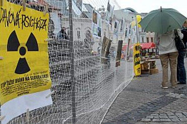 Na Slovensku sa proti ťažbe uránu podpisuje petícia.