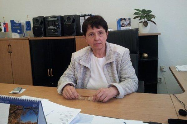 Hlavná školská inšpektorka Viera Kalmárová.