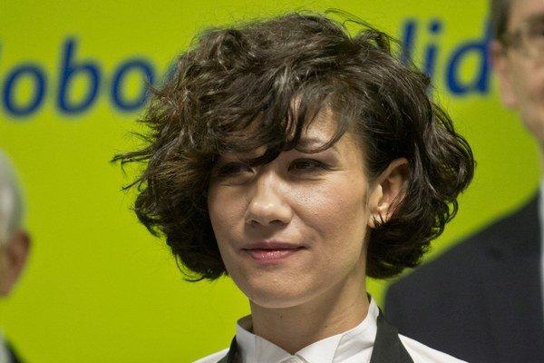 Lucia Nicholsonová, podpredsedníčka Výboru Národnej rady SR pre ľudské práva a národnostné menšiny.
