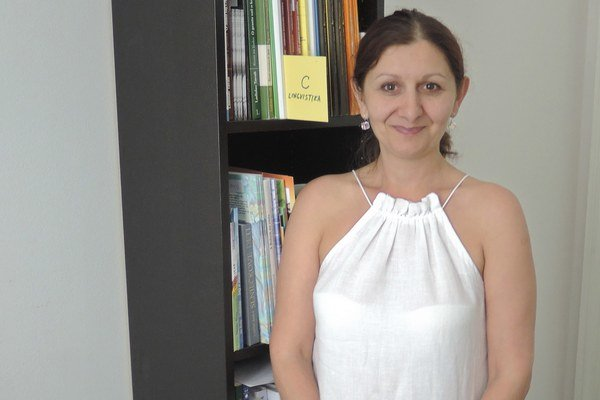 Etnografka a historička Zuzana Kumanová.