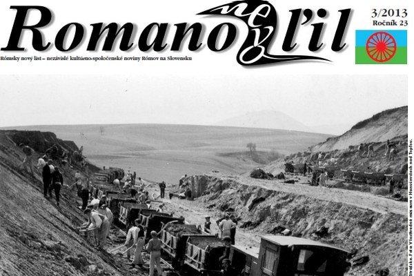 Tretie vydanie Romano Nevo Ľil v tomto roku.