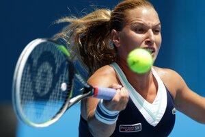 Slovenka Dominika Cibulková zdolala v Melbourne Rusku Mariu Šarapovovú.