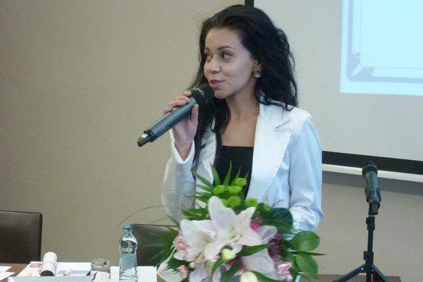 Učiteľka košického konzervatória Silvia Galyášová.