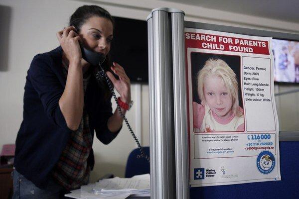 Grécke úrady nevedia nájsť rodičov Marii, ktorú objavila polícia v osade.