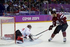 Lotyš Darzinš takto prekonal Pricea na 1:1.