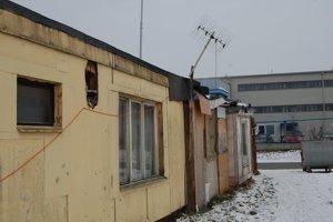 Osada Liptovský Mikuláš 6Pôvodne bolo v osade len niekoľko unimobuniek.
