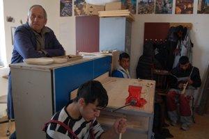 Stolárska dielňa 1V dielni strúhali varešky z lipového dreva