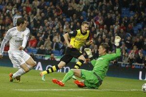 Prvý gól Realu strelil Gareth Bale.