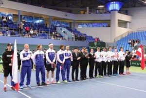 Nástup pred Daviscupovým zápasom Slovensko - Rakúsko.