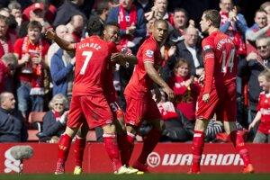 Z prvého gólu sa futbalisti Liverpoolu tešili už v 7. minúte.