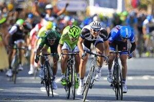 Peter Sagan má v súťaži o zelený dres veľký náskok. V prvej etape vyhral Kittel.