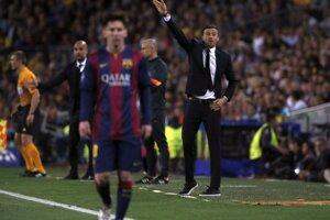 Prvý zápas semifinále futbalovej Ligy majstrov medzi FC Barcelona a Bayernom Mníchov.