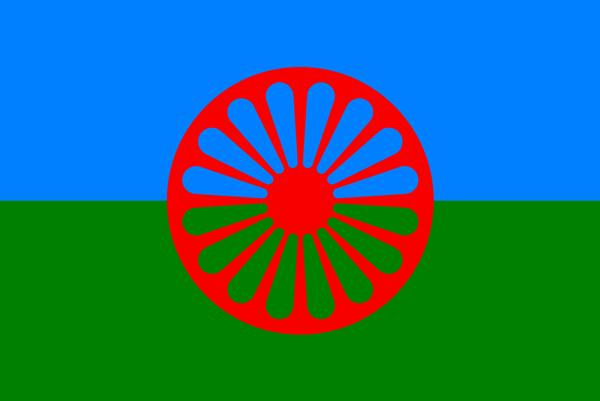 Rómska vlajka.