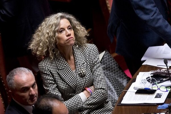 Talianska senátorka Monica Cirinnová.