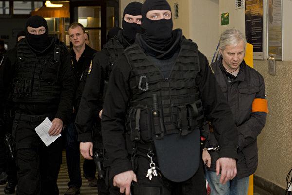 Proces v prípade vraždy Petra Čongrádyho z februára 2016.