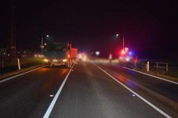 Na ceste I/11 došlo včera okolo 16.40 h k dopravnej nehode.