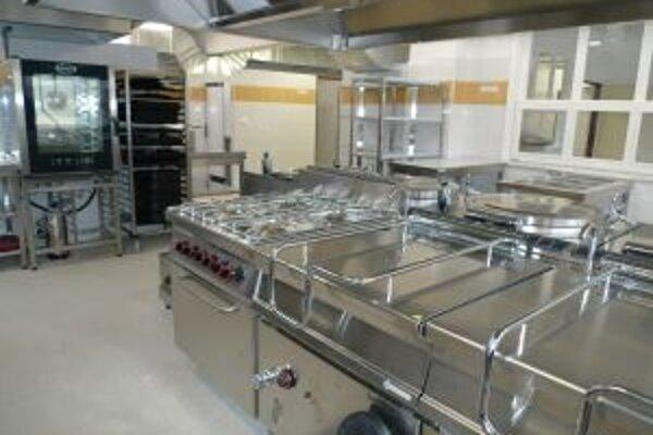V Slniečku slúži obyvateľom nová zmodernizovaná kuchyňa.