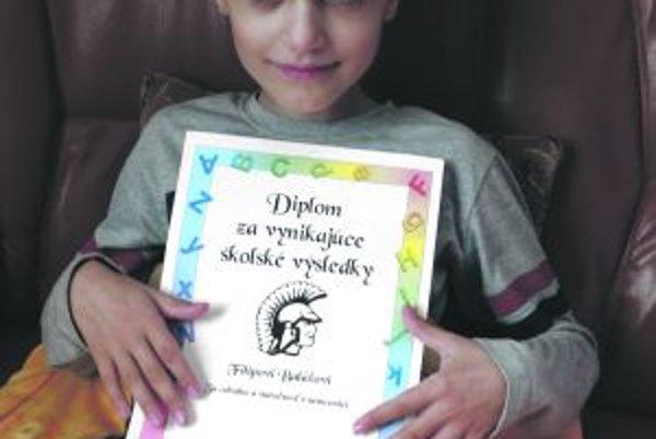 Filipko Baláž má iba deväť rokov, no zažil už veľa utrpenia.