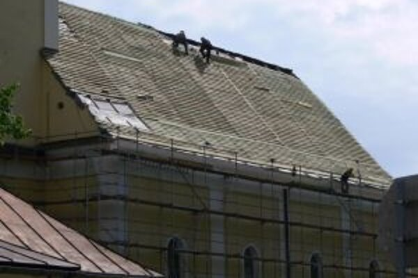 Práce na rekonštrukcii strechy skomplikovali nezvyčajní obyvatelia podkrovia.