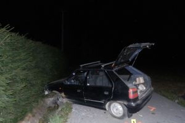 Pri dopravnej nehode sa ťažko zranili dvaja spolujazdci vo veku 40 a 60 rokov.