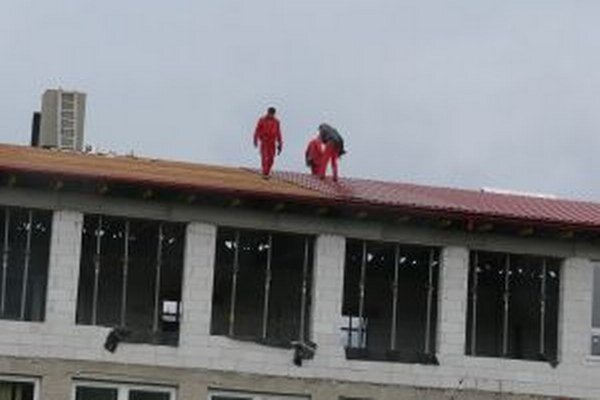 V Turzovke pracovali na nadstavbe školy, ktorú navštevuje okolo 700 žiakov.
