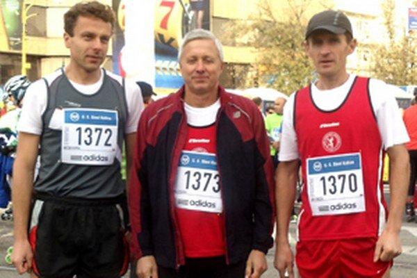 Zľava: Anton Kupka, Emil Cisarik, Ján Jurčík.