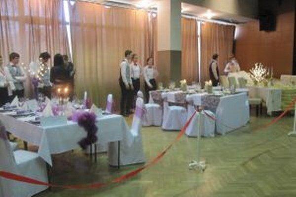 Vianočné stolovania boli pre mnohých návštevníkov inšpiráciou.