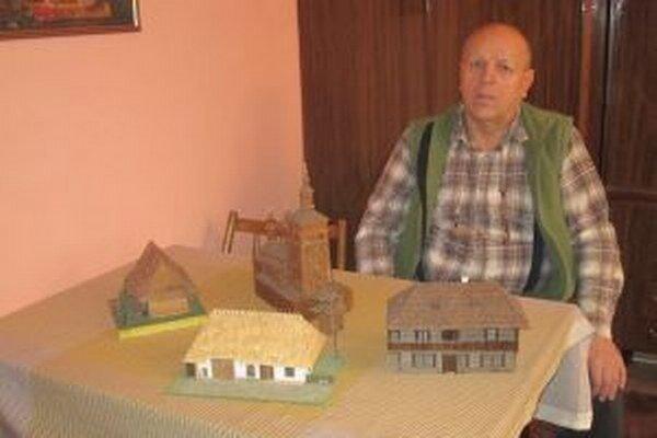 Každá z dreveničiek Milana Bileša má aj svoju históriu.