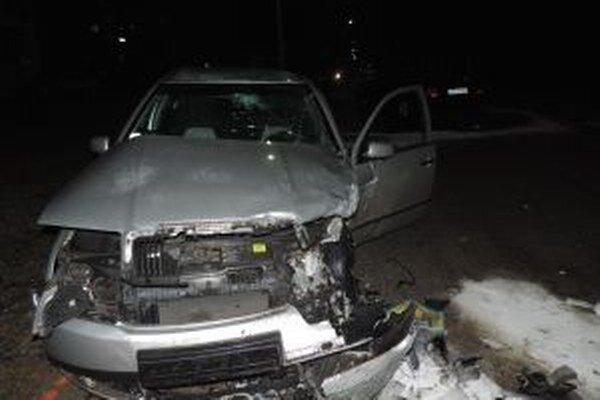 Pri včerajšej nehode boli aj zranení.