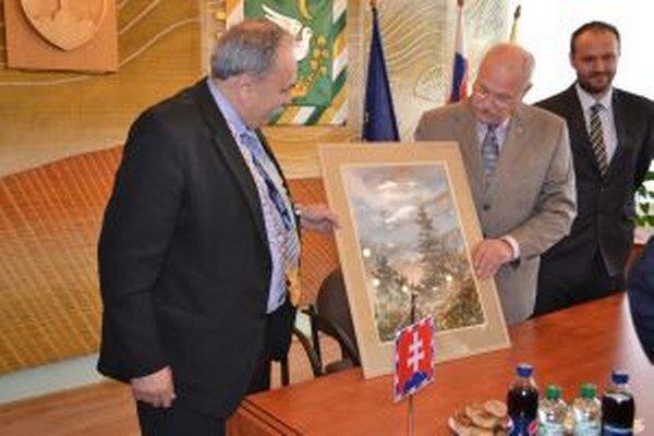Prezident sa v Krásne stretol aj so starostami z ostatných kysuckých obcí.