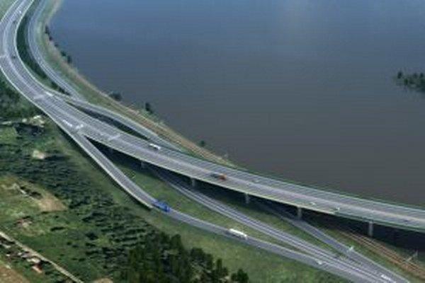Dokončený úsek diaľnice D3 Žilina, Strážov – Žilina, Brodno výrazne odľahčí dopravu na cestách I/11 a I/18.