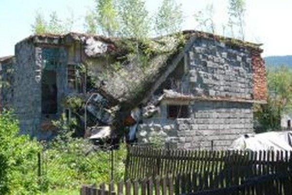 Tento dom je neobývaný takmer sedemnásť rokov.