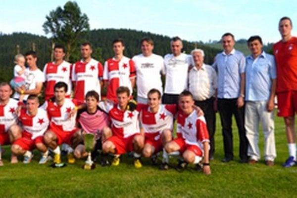 Slávia Staškov skončila na domácom turnaji na druhej priečke.