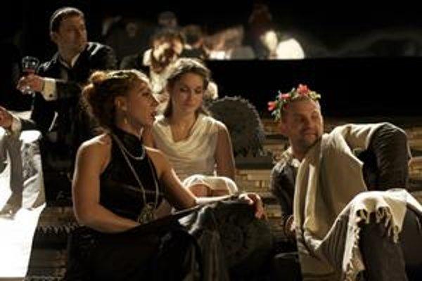 Z predstavenia Herodes a Herodias.